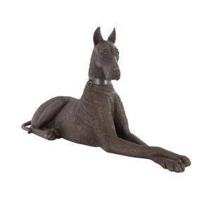 accessories great dane bronze sculpture