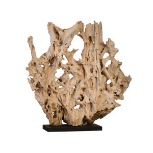 accessories teak sculpture 76-inch
