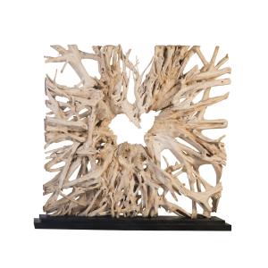 accessories teak sculpture 92 inch