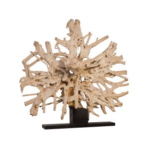 accessories teak sculpture 97-inch