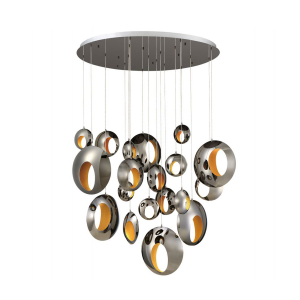lighting arlington 51-inch round chandelier