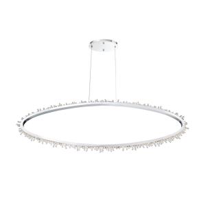 lighting scoppia oval chandelier