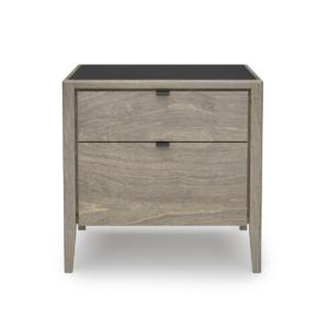 bedroom edmond 2-drawer nightstand