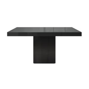 dining room beech table black
