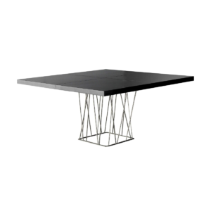 dining room clarges table glossy black