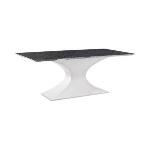 dining room prague table black marble