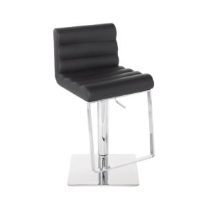 fanning hydraulic stool black