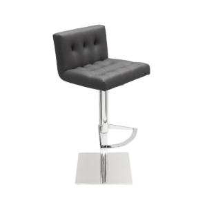 preston hydraulic stool grey